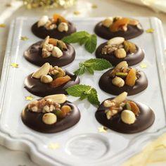 menu navideno last minute chocolate frutos secos Canapes, Deli, Tiramisu, Pudding, Chocolate, Desserts, Recipes, Food, Eggplant Meatballs
