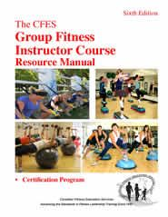 CFES Group Fitness Instructor Course Resource Manual
