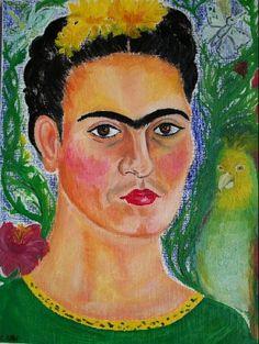 Data: Desconeguda Títol: Frida Kahlo Autor: Anònim
