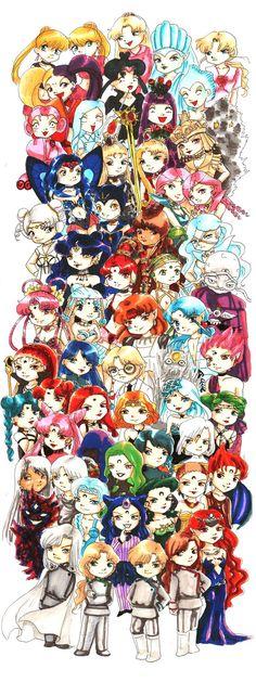 Sailor moon villians