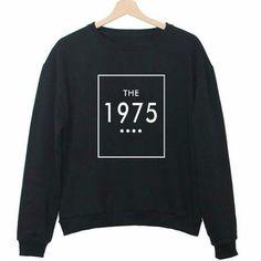 THE 1975 Letter Print Women Fashion Sportswear Hoodies Loose Pullover Lady Moletons Crewneck Couple Sweatshirts Baseball Jersey