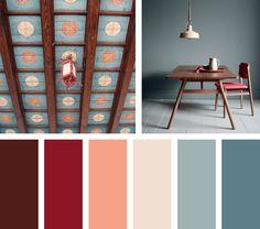 Interesante y con altura, una mezcla de colores rojos y azules con un ligero contrasteprovocando deseo.  Espacio Via: yellowtrace.com.au