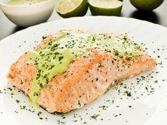 Studio 5 - Sweet and Salty: Wasabi Crusted Salmon Salmon Recipes, Fish Recipes, Seafood Recipes, Cooking Recipes, Healthy Recipes, Salmon Dishes, Seafood Dishes, Salmon En Salsa, Cooking Salmon Fillet