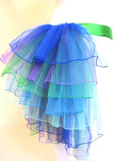 Image detail for -... Adult Fairy Fashion burlesque bustles NEW Burlesque bustle - Peacock