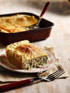 Η τέλεια μανιταρόπιτα - www.olivemagazine.gr Gf Recipes, Types Of Food, Cornbread, Food And Drink, Vegetables, Ethnic Recipes, Desserts, Tarts, Foods