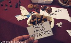 How to throw a Game of Thrones themed Party like I did. I share some tips and tricks to host a Feast for Crows even if you are on a budget. Happy Name Day, Happy Names, A Feast For Crows, Game Of Thrones Party, Dungeons And Dragons Dice, Dragon Dies, Got Party, Cheese Puffs, How To Make Labels