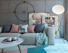 Obolon Apartment. Kiev on Behance