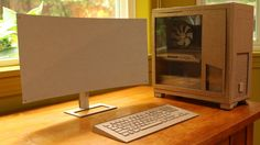 cardboard computer monitor - Google Search