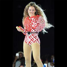 Beyonce usando Gucci