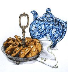 Choc Cashew Cookies