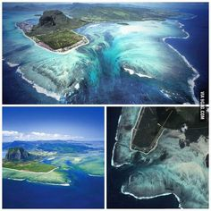 No photoshop. This is actually real. Mauritius Island