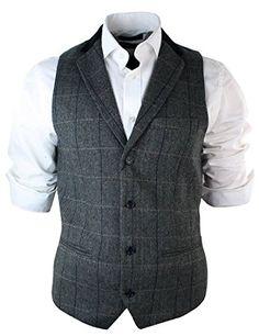 Herrenweste Braun Holzbraun Grau Tweed Fischgräte Design Vintage Eng marc darcy http://www.amazon.de/dp/B00OS4YR8K/ref=cm_sw_r_pi_dp_NF.fxb19W1HZ9