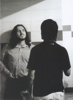 Anthony Kiedis and John Frusciante