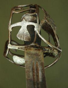 Pre-colonial Scottish Basket-hilt Sword Dated: circa...
