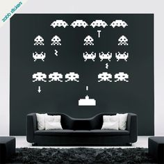 Vinilos de Space Invaders