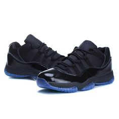 Air Jordan 11 Air Sole Low Black Blue $102.00, The Air Jordans For Sale http://www.asiamattersforamerica.org/rest/