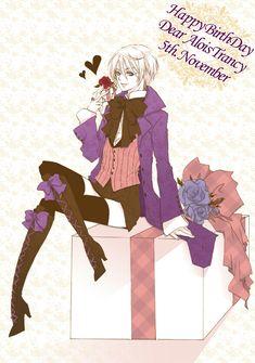 Happy Birthday Alois! Black butler, Kuroshitsuji, Alois Trancy