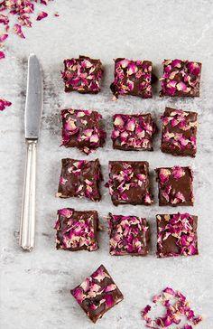 Rose Brownies