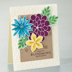 Flower Patch Photopolymer Stamp Set by Stampin' Up!