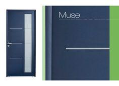 Porte d'entrée Muse Aluminium - Portes
