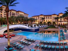 The Green Valley Ranch Resort & Spa in Henderson, Nevada     1/2 off spa services for locals