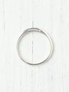 Free People Loved Ring