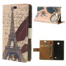 Custodia Book Nokia X & X+ Design Luoghi Paris 9 € 9,99