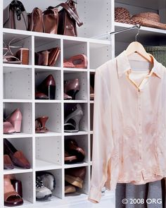 What Woman Doesnu0027t Want Shoe Cubbies? Any Features You See On This  Pin Board Is Offered By Closet Connections! Call Us At For Inquiries.
