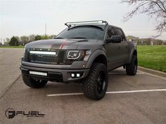 2014 Ford F-150 Raptor On Fuel Off Road.    http://supercarsshow.com/2015/01/2014-ford-f-150-raptor-on-fuel-off-road-wheels.html