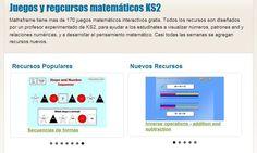 Mathsframe, más de 170 juegos matemáticos interactivos gratuitos