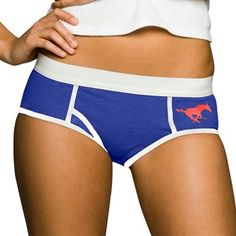SMU Mustangs Blue Boy Brief Underwear