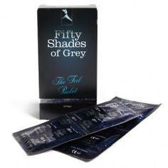 FIFTY SHADES OF GREY  PRESERVATIVOS 12 PCS
