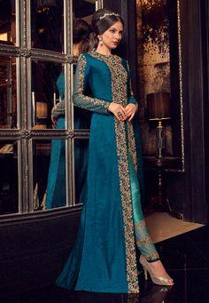 Get Majestic Brown And Beige Silk Designer Anarkali Suit latest designer party wear salwar suits, wedding wear anarkali dress for women at VJV Fashions Anarkali Dress, Pakistani Dresses, Indian Dresses, Indian Outfits, Anarkali Suits, Lehenga Choli, Saree, Party Wear Dresses, Bridal Dresses
