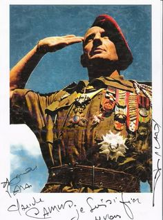 French Officer ~ Vietnam War