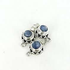 KYANITE CLASP GRANULATED 8mm from New World Gems