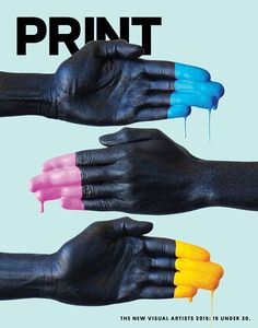 Print Magazine: NVA 2015 - Wael Morcos amazing representation of CMYK and the hands on approach to printing Graphisches Design, Layout Design, Creative Design, Print Design, Flyer Design, Logo Design, Design Editorial, Editorial Layout, Magazine Cover Design