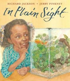 Children's Book Review - In Plain Sight - is about a little game that a grandfather & granddaughter play together. #sponsored review