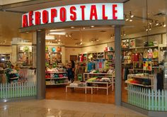 Aeropostale: where just about ALL of my clothes are at♥