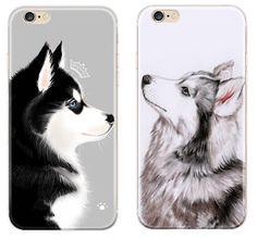 SIBERIAN HUSKY MALAMUTE dog lovely cute Phone case for iPhone 5 5S 6 6S 7 plus #UnbrandedGeneric