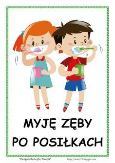 BLOG EDUKACYJNY DLA DZIECI Learn Polish, Advertising Design, School Projects, Kids Learning, Montessori, Hand Lettering, Kindergarten, Preschool, Clip Art