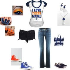 """""""Detroit Tigers"""" by danielle-miocic on Polyvore"""
