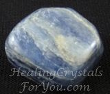 Blue Kyanite is wonderful to use on the throat chakra as it will open the chakra, creating better communication and self expression. Its impact when communicating, assists you to speak your personal truth. When working with others it promotes telepathy and also will release fear from both yourself and those you work with. These stones are helpful to aid dream recall and helps by stimulating healing dreams. May assist you with finding your spirit guide.