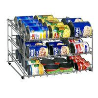 Wire Can Rack