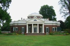 Monticello and the University of Virginia in Charlottesville ...