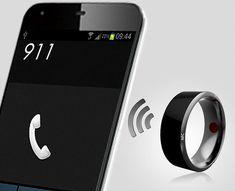 Inel smart 2018  filtreaza mesajele primite pe smartphone; utilizatorii au controlul asupra tipurilor de actualizări care sunt furnizate de inel; functie de acceptare si trimitere apeluri; trimitere mesaje; control smartphone de la distanta;