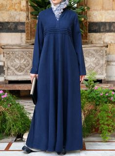 SHUKR USA | Tencel and Cotton Ambarin Abaya