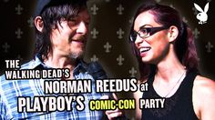 The Walking Dead's Norman Reedus at Playboy's Comic Con Party