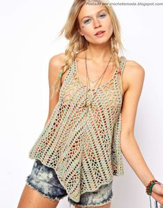 Crochetemoda: Crochet Top
