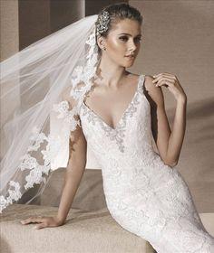 https://flic.kr/p/BKRTHo | Trouwjurken | Trouwjurken vintage, Moderne Trouwjurken, Korte trouwjurken, Avondjurken, Wedding Dress, Wedding Dresses | www.popo-shoes.nl