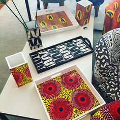 # Africanlifestyle, the art of living, is a state of mind in line with the staggering dynamics of our continent. Made in Africa products! African Crafts, African Home Decor, African Interior Design, African Design, Afro, African Textiles, African Fabric, African Furniture, Ethno Style